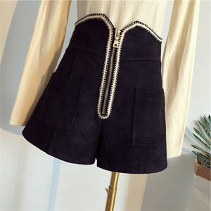 Autumn Winter Shorts New Loose