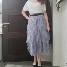 Load image into Gallery viewer, Fashion Tutu Tulle Skirt