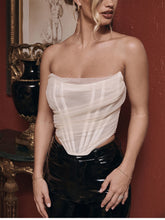 Load image into Gallery viewer, Sleeveless Fashion Strapless Bustier Corset Crop Top