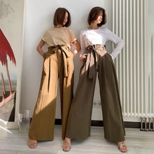 Load image into Gallery viewer, High Waist Waistband Fashion Vintage Long Pants