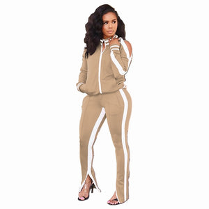 Autumn Winter Two Piece Set Tracksuit