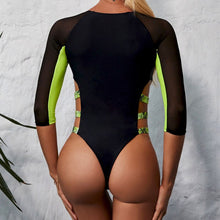 Load image into Gallery viewer, Sports one piece swimsuit