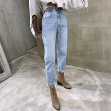 Load image into Gallery viewer, Vintage High Waist Straight Jeans
