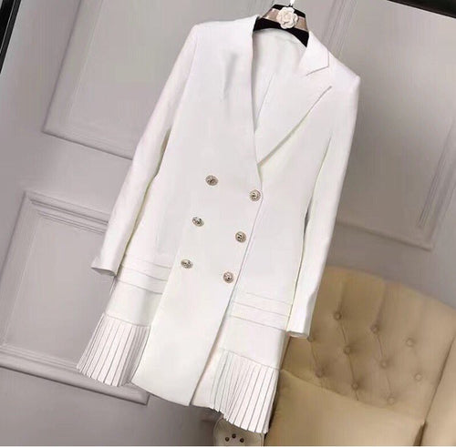 Runway Designer Blazer Dress