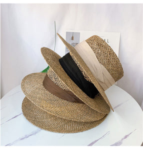 Wide Brim Seagrass Straw Hat