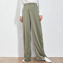Load image into Gallery viewer, Loose Casual Trousers High Waist Maxi Wide Leg Pants