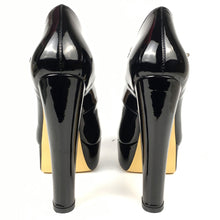 Load image into Gallery viewer, Round Toe Platform Pumps Buckle Strap High Heels