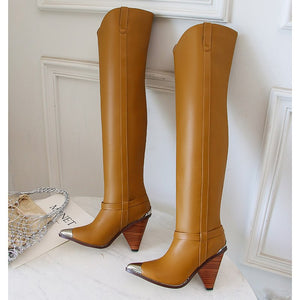 Plus size 34-45 New Genuine leather boots