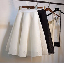 Load image into Gallery viewer, Fashion High Waist A-line Knee-length Skirt