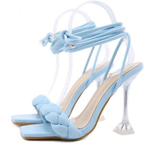 Load image into Gallery viewer, Transparent Strange High heels