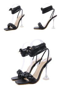 Transparent Strange High heels
