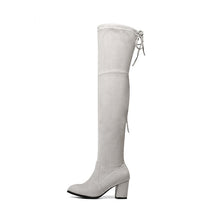 Load image into Gallery viewer, Over The Knee Boots Winter Round Toe