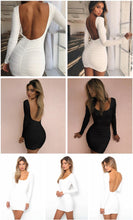 Load image into Gallery viewer, Long Sleeve Wrap Bodycon