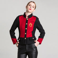 Load image into Gallery viewer, Luxury Heart Embroidery Jacket Autumn Long Sleeve