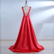Load image into Gallery viewer, Red Evening Dress