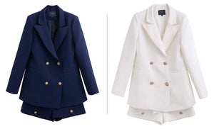 Short Suit Set  Jacket Blazer