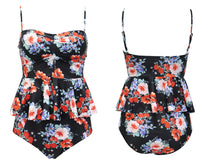 Load image into Gallery viewer, Push Up Tankini Set Swimsuit