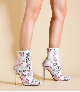 Ankle Boots  Spring Autumn High Heels