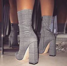 Load image into Gallery viewer, Print Sexy Ankle Boots