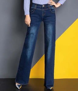Loose Wide Leg Flare Jeans