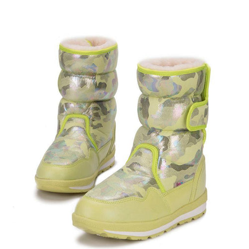 Winter  snow boots warm style