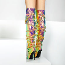 Load image into Gallery viewer, Autumn Winter Shoes Over The Knee Boots