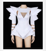 Load image into Gallery viewer, White Bodysuit