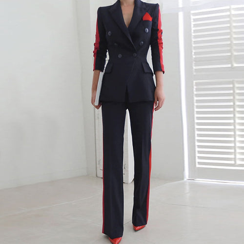 high quality temperament fashion wild suit