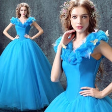 Load image into Gallery viewer, Blue Cinderella  dress