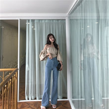 Load image into Gallery viewer, Vintage High Waist Flare Jeans High Quality Skinny