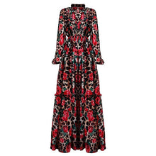 Load image into Gallery viewer, Fashion Runway Long Sleeve Maxi Dress