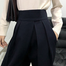 Load image into Gallery viewer, Casual Black Harem Trousers