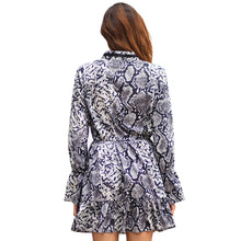 Load image into Gallery viewer, Lace Patchwork A-Line Dress