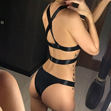 Load image into Gallery viewer, New Bandage Cross Back Bikini
