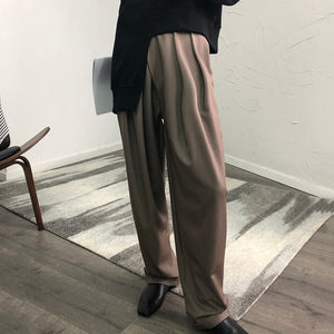 Casual Black Harem Trousers