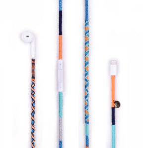 HAPPY-NES - Blue Disco Earphone