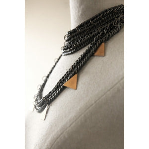 HAATI CHAI - Soli Neckpiece as seen on Micah Gianneli