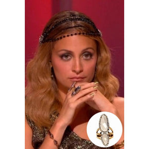 House of Harlow 1960 - Stacked Rif Pebble Ring As seen on Nicole Richie