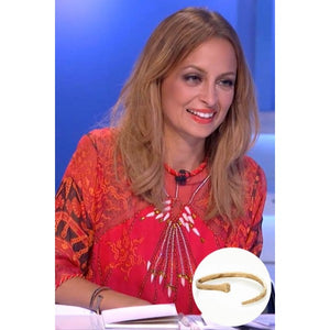 House of Harlow 1960 - All For the Want of a 14K Horseshoe Nail Cuff as seen on Nicole Richie