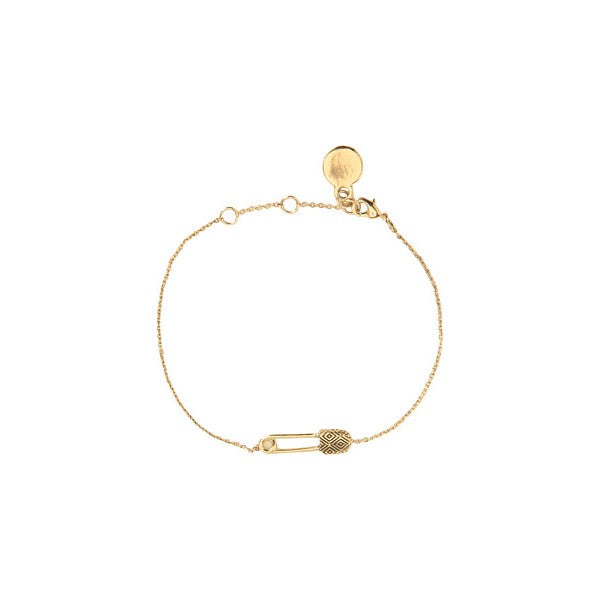 House of Harlow 1960 - Petite Safety Pin Bracelet