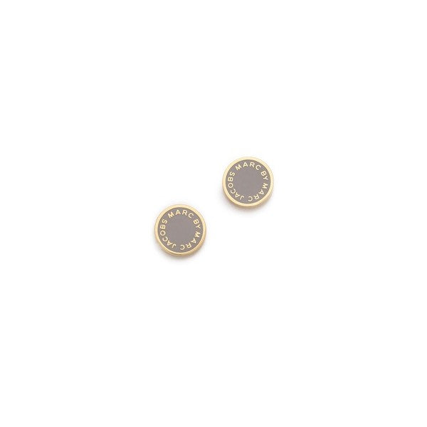 Marc by Marc Jacobs - Logo Disc Stud Earrings