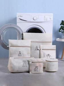 Laundry Wash Bags - 6 Pcs