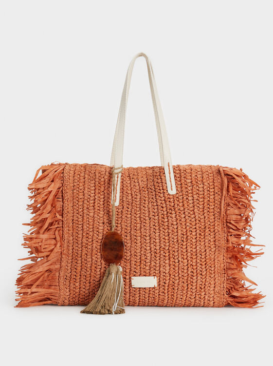 Fringy Tanned Tote