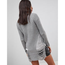 QED London - Distressed Jumper