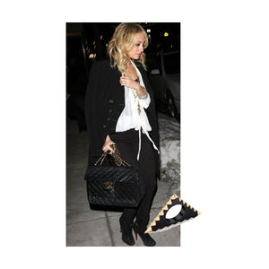 House of Harlow - Gunmetal Triquetra Ring As seen on Nicole Richie