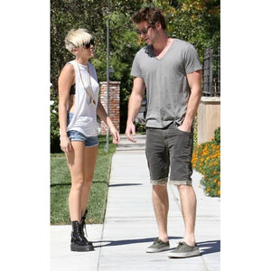 Michael Lauren - Frank Muscle Tank As seen on Miley Cyrus