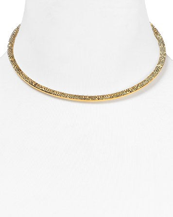 House of Harlow 1960 - Isis Engraved Collar