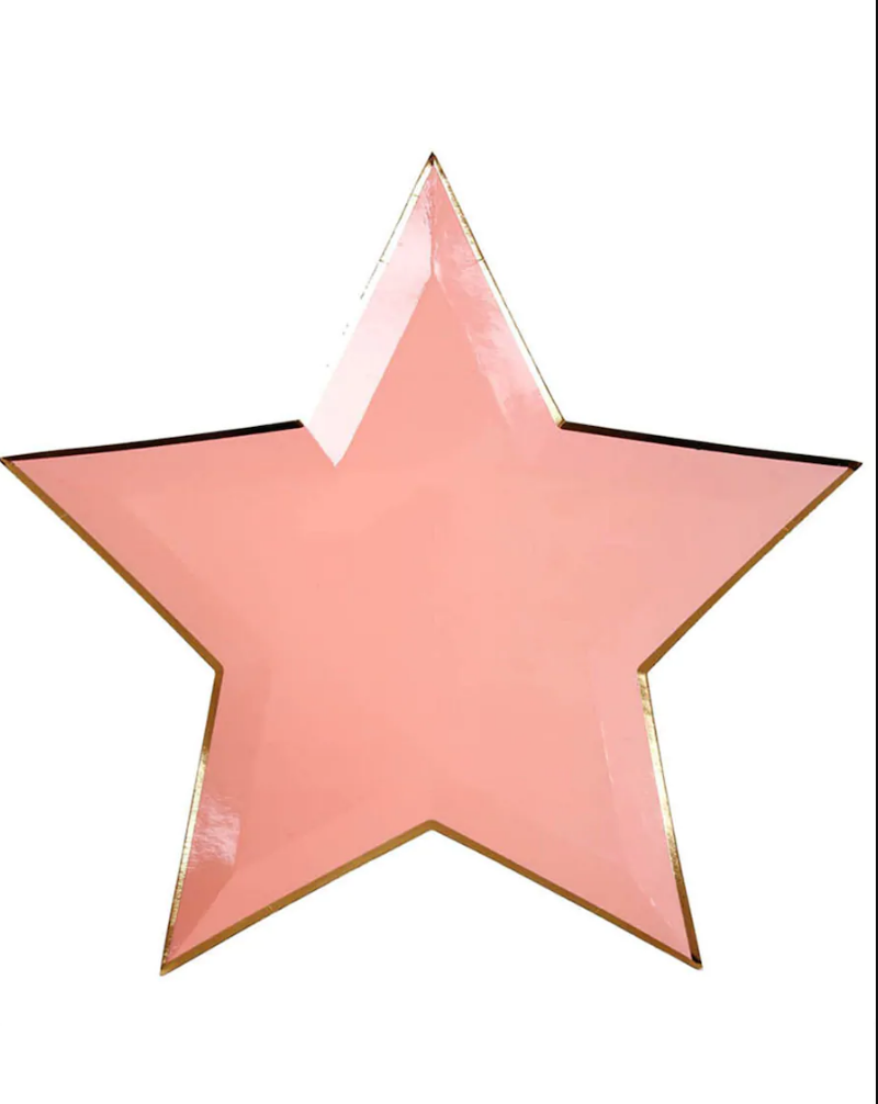 Star Paper Plate