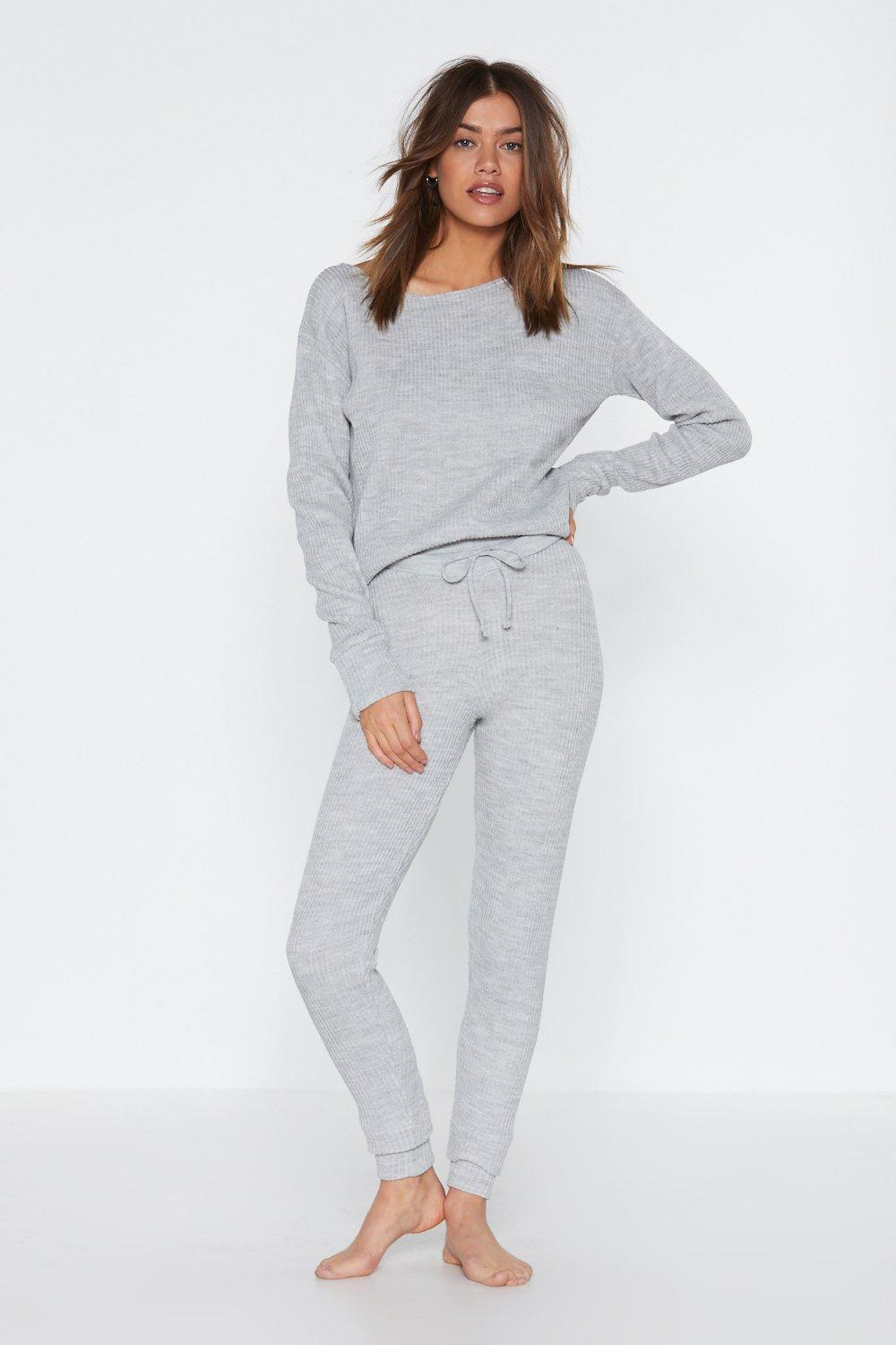 Serious Chills Sweater and Joggers Lounge Set