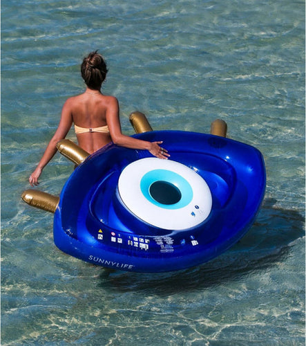 SUNNYLIFE - Luxe Lie-On Float Greek Eye